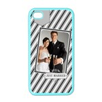 wedding - Apple iPhone 4 Case (Color)