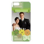 wedding - Apple iPhone 5 Seamless Case (White)