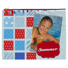 Summer By Summer Time    Cosmetic Bag (xxxl)   R3h35hm5un94   Www Artscow Com Front