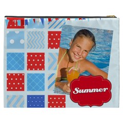 Summer By Summer Time    Cosmetic Bag (xxxl)   R3h35hm5un94   Www Artscow Com Back
