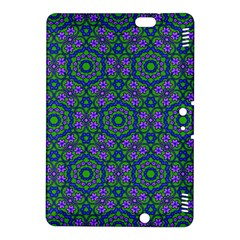 Retro Flower Pattern  Kindle Fire Hdx 8 9  Hardshell Case by SaraThePixelPixie