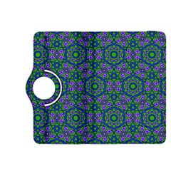 Retro Flower Pattern  Kindle Fire Hdx 8 9  Flip 360 Case by SaraThePixelPixie