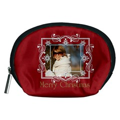 Xmas Gift By May   Accessory Pouch (medium)   Fv20s7de0cau   Www Artscow Com Front