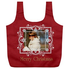 Xmas Gift By May   Full Print Recycle Bag (xl)   I7pd6p6r49kr   Www Artscow Com Back