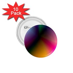 Prism Rainbow 1 75  Button (10 Pack) by StuffOrSomething