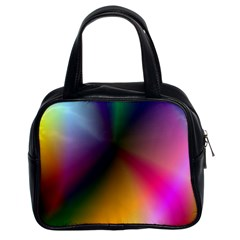 Prism Rainbow Classic Handbag (two Sides) by StuffOrSomething