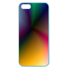 Prism Rainbow Apple Seamless Iphone 5 Case (color) by StuffOrSomething
