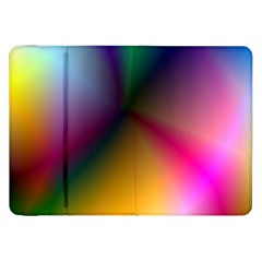 Prism Rainbow Samsung Galaxy Tab 8 9  P7300 Flip Case by StuffOrSomething