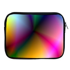 Prism Rainbow Apple iPad Zippered Sleeve by StuffOrSomething