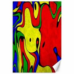 Abstract Canvas 12  X 18  (unframed) by Siebenhuehner