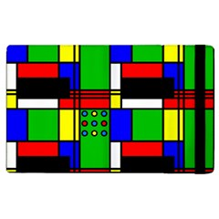 Mondrian Apple Ipad 2 Flip Case by Siebenhuehner