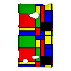 Mondrian Nokia Lumia 720 Hardshell Case by Siebenhuehner