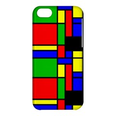 Mondrian Apple Iphone 5c Hardshell Case by Siebenhuehner