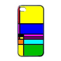 Mondrian Apple Iphone 4 Case (black) by Siebenhuehner