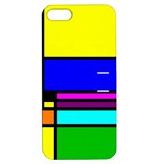 Mondrian Apple Iphone 5 Hardshell Case With Stand by Siebenhuehner