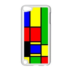 Mondrian Apple Ipod Touch 5 Case (white) by Siebenhuehner