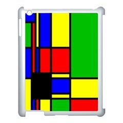 Mondrian Apple Ipad 3/4 Case (white) by Siebenhuehner