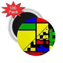 Moderne 2 25  Button Magnet (100 Pack) by Siebenhuehner