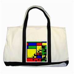 Moderne Two Toned Tote Bag by Siebenhuehner