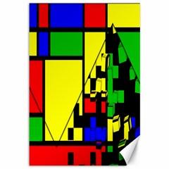 Moderne Canvas 12  X 18  (unframed) by Siebenhuehner