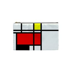Mondrian Cosmetic Bag (small) by Siebenhuehner