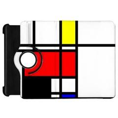 Mondrian Kindle Fire Hd 7  (1st Gen) Flip 360 Case by Siebenhuehner