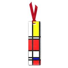 Mondrian Small Bookmark by Siebenhuehner