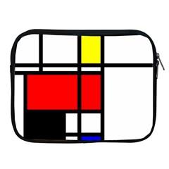 Mondrian Apple Ipad Zippered Sleeve