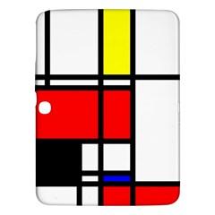 Mondrian Samsung Galaxy Tab 3 (10 1 ) P5200 Hardshell Case