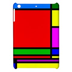 Mondrian Apple Ipad Mini Hardshell Case by Siebenhuehner
