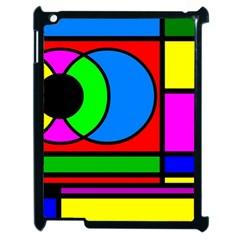 Mondrian Apple Ipad 2 Case (black) by Siebenhuehner