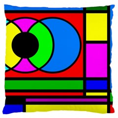 Mondrian Large Cushion Case (two Sided)  by Siebenhuehner