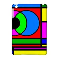 Mondrian Apple iPad Mini Hardshell Case (Compatible with Smart Cover) by Siebenhuehner