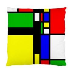 Abstrakt Cushion Case (single Sided)  by Siebenhuehner