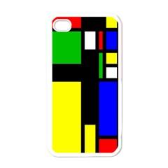 Abstrakt Apple Iphone 4 Case (white) by Siebenhuehner