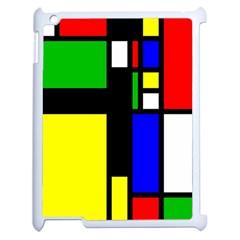 Abstrakt Apple Ipad 2 Case (white) by Siebenhuehner