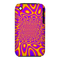 Psycedelic Warp Apple Iphone 3g/3gs Hardshell Case (pc+silicone) by SaraThePixelPixie