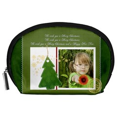 Xmas By Mac Book   Accessory Pouch (large)   058ewtx7zu7d   Www Artscow Com Front