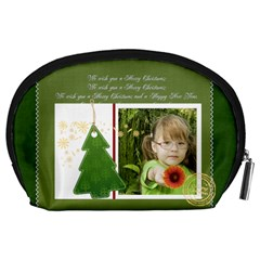 Xmas By Mac Book   Accessory Pouch (large)   058ewtx7zu7d   Www Artscow Com Back