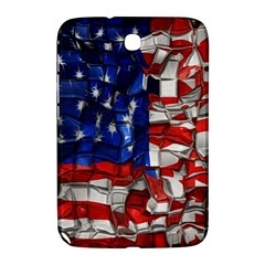 American Flag Blocks Samsung Galaxy Note 8 0 N5100 Hardshell Case  by bloomingvinedesign