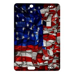 American Flag Blocks Kindle Fire Hd 7  (2nd Gen) Hardshell Case by bloomingvinedesign