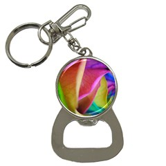 Rainbow Roses 16 Bottle Opener Key Chain by bloomingvinedesign