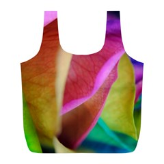 Rainbow Roses 16 Reusable Bag (l)