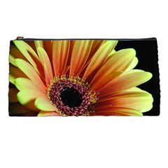 Yellow Orange Gerbera Daisy Pencil Case by bloomingvinedesign