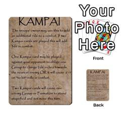Seven Spears Shimazu Otomo Basic By T Van Der Burgt   Multi Purpose Cards (rectangle)   F0ezacmadbda   Www Artscow Com Back 16