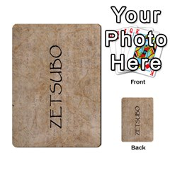 Seven Spears Shimazu Otomo Basic By T Van Der Burgt   Multi Purpose Cards (rectangle)   F0ezacmadbda   Www Artscow Com Back 4