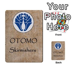 Seven Spears Shimazu Otomo Basic By T Van Der Burgt   Multi Purpose Cards (rectangle)   F0ezacmadbda   Www Artscow Com Back 43