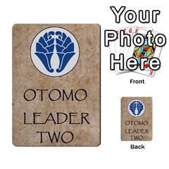 Seven Spears Shimazu Otomo Basic By T Van Der Burgt   Multi Purpose Cards (rectangle)   F0ezacmadbda   Www Artscow Com Back 46