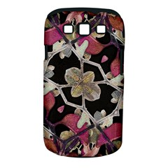 Floral Arabesque Decorative Artwork Samsung Galaxy S Iii Classic Hardshell Case (pc+silicone) by dflcprints