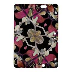 Floral Arabesque Decorative Artwork Kindle Fire Hdx 8 9  Hardshell Case by dflcprints